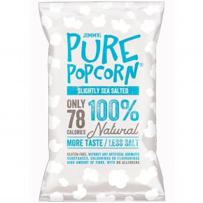 Jimmy's Pure Popcorn Medium Salt