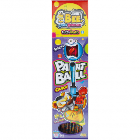 Johny Bee Paint Ball Candy Straws 100er