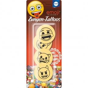 Küchle emoji Zungen-Tattoos