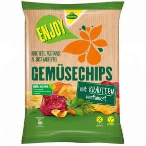 Kühne Enjoy Gemüsechips Kräuter