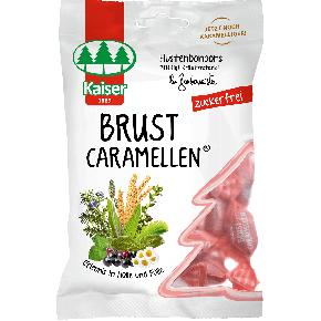 Kaiser Brust Caramellen zuckerfrei 75g