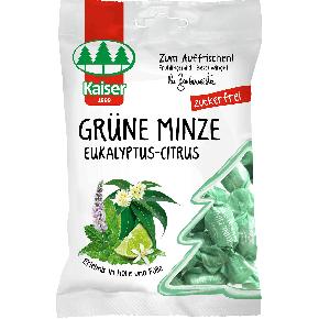 Kaiser Grüne Minze Eukalyptus-Citrus zuckerfrei 75g