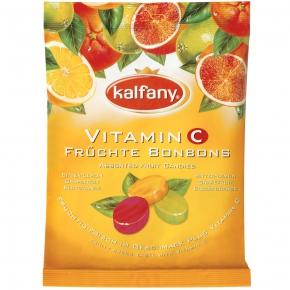 kalfany Vitamin C Früchte-Bonbons
