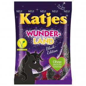 Katjes Wunderland Black-Edition 200g