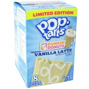 Kellogg's Pop-Tarts Dunkin'Donuts Frosted Vanilla Latte 8er