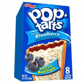 Kellogg's Pop-Tarts Frosted Blueberry 8er