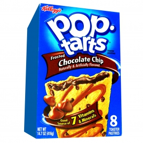 Kellogg's Pop-Tarts Frosted Chocolate Chip