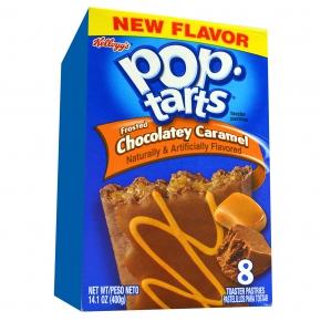 Kellogg's Pop-Tarts Frosted Chocolatey Caramel 8er