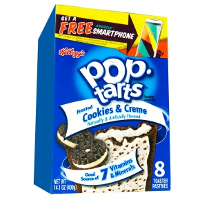 Kellogg's Pop-Tarts Frosted Cookies & Creme 8er