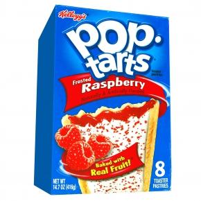 Kellogg's Pop-Tarts Frosted Raspberry 8er