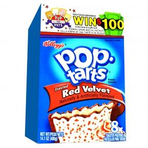 Kellogg's Pop-Tarts Frosted Red Velvet 8er
