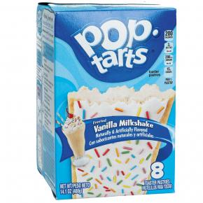 Kellogg's Pop-Tarts Frosted Vanilla Milkshake 8er