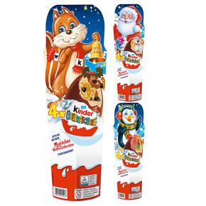 kinder Überraschung Classic-Ei Weihnachten 4er