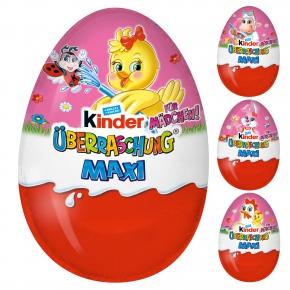 kinder Überraschung Maxi Rosa-Ei Ostern