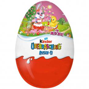 kinder Überraschung Riesen Rosa-Ei Ostern