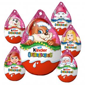 Kinder Überraschung Rosa-Ei Anhänger