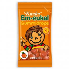 Kinder Em-eukal Gummidrops Orange