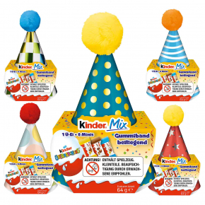kinder Mix Party-Hut 64g