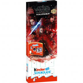 "kinder Schokolade ""Star Wars"" Adventskalender"