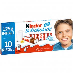 kinder Schokolade 10er