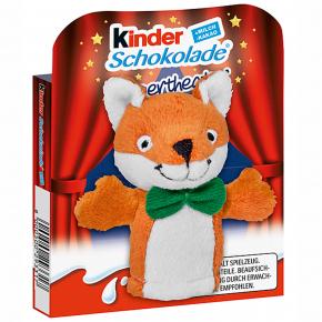 kinder Schokolade Fingerpuppe Fuchs