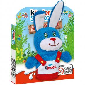 kinder Schokolade Fingerpuppe Hase