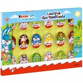 kinder Schokolade Lustige Gartenbande 153g
