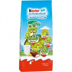kinder Schokolade Kleine Frösche 102g