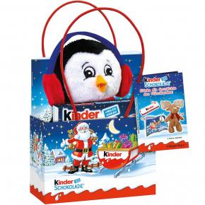 kinder Schokolade Mini Geschenktüte Pinguin