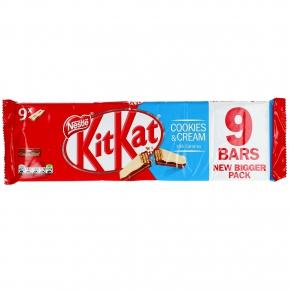 KitKat Cookies & Cream 9x2er