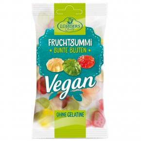 Lühders Vegan Fruchtgummi Bunte Blüten
