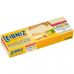 Leibniz Special Edition Lemon Cheesecake