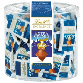 Lindt Excellence Mini Extra cremig Vollmilch 70er