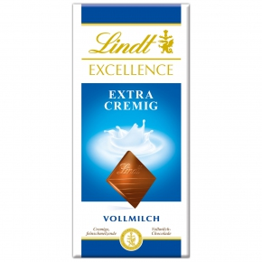 Lindt Excellence Vollmilch Extra Cremig 100g