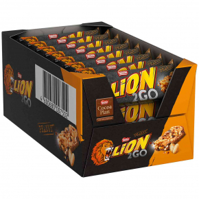 Lion 2Go Peanut 24x33g