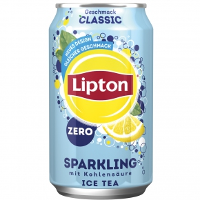 Lipton Ice Tea Sparkling Classic Zero Sugar 330ml