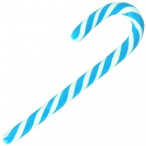 LollyMaster Zuckerstange 16cm blau-weiß