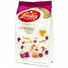 """Lonka """"Special Moments"""" Soft Nougat Cranberry & Almond 144g"""