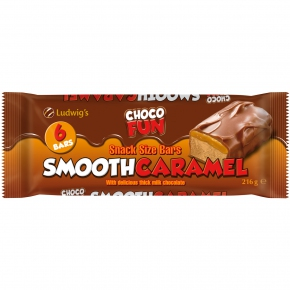 Ludwig's Choco Fun Smooth Caramel 6er Multipack