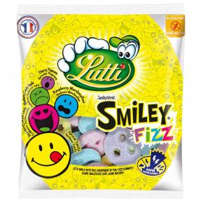 Lutti Smiley Fizz 90g