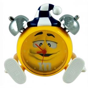 m&m's Peanut Alarm Clock Yellow