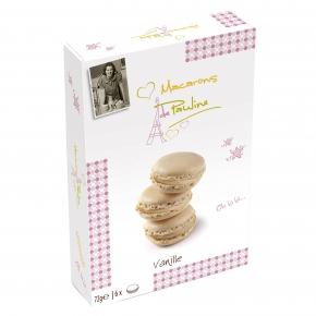 Macarons de Pauline Vanille
