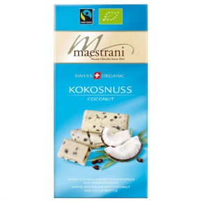 maestrani Swiss Organic Bio/Fairtrade Kokosnuss
