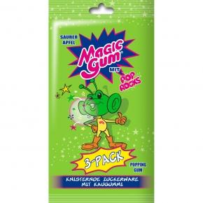 Magic Gum Pop Rocks Saurer Apfel 3er