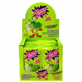 Magic Gum Pop Rocks Saurer Apfel 50er