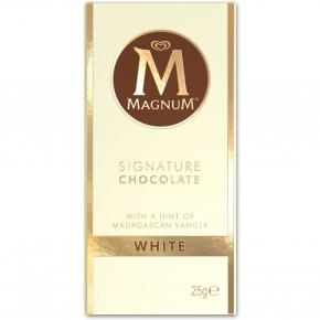 Magnum Signature Chocolate White 25g