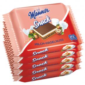 Manner Milch-Haselnuss-Schnitte 5x25g