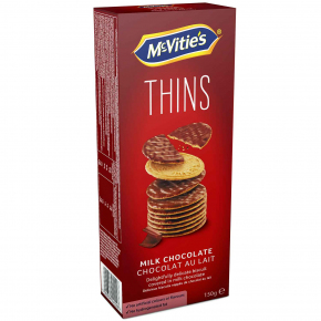 McVitie's Thins Milk Chocolate 150g
