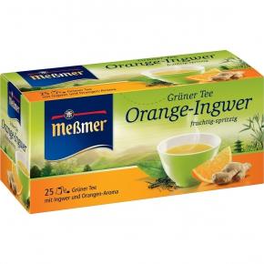 Meßmer Grüner Tee Orange + Ingwer