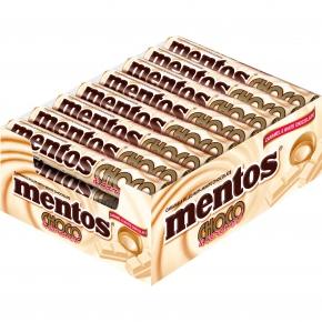 mentos Choco & Caramel weiß 24x9er